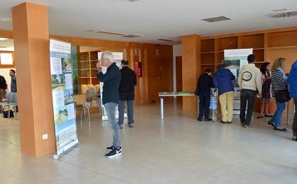 Exposición de paneles